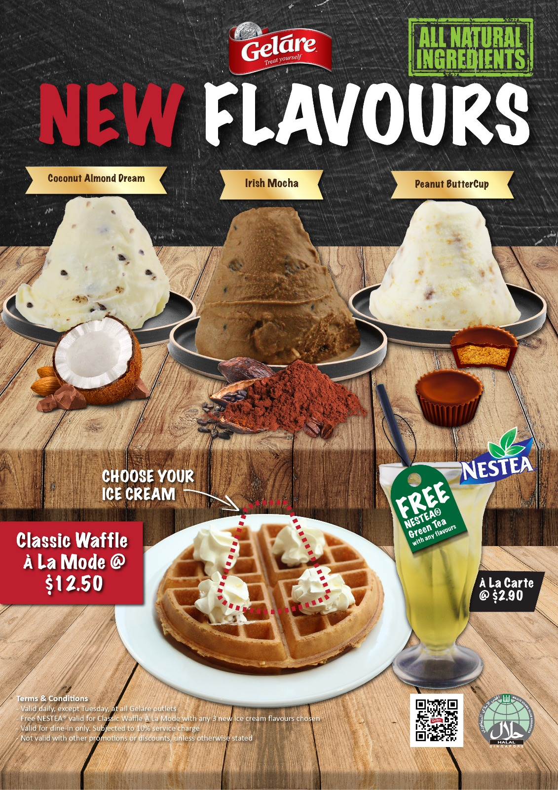 Geláre July NC_New Flavours