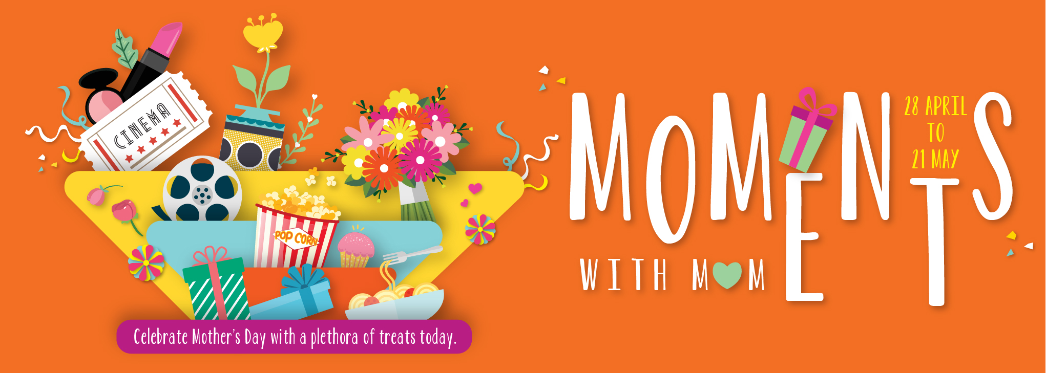 WM03-17 West Mall Mothers Day Web Banner