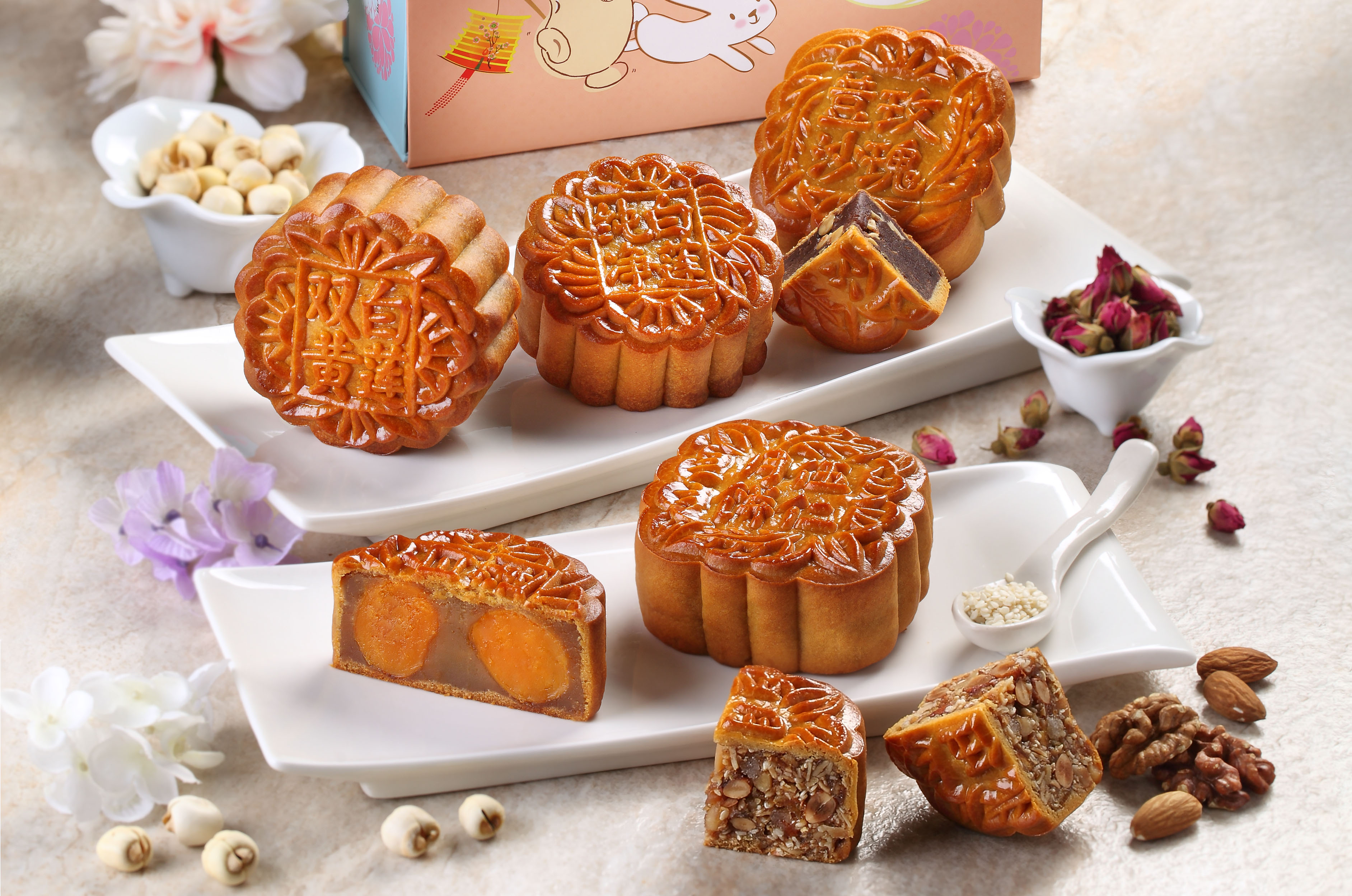 Mr Bean Mooncakes - Cropped
