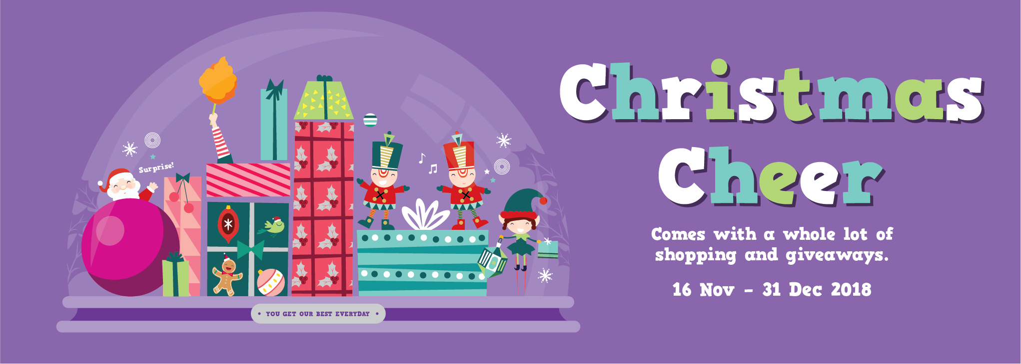 WM11-18 West Mall Christmas Web Banner