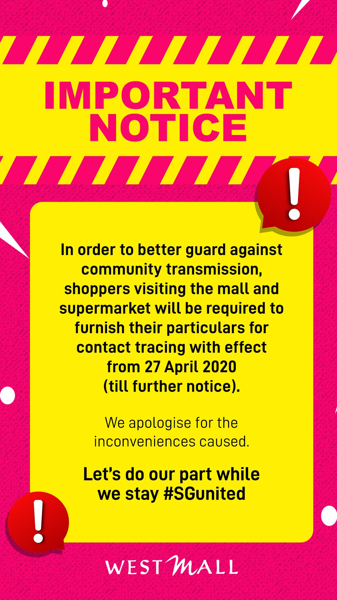 Important notice B
