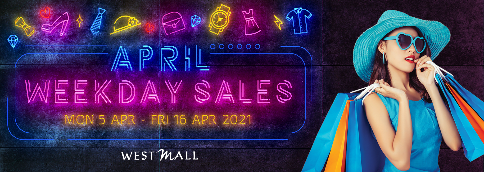 April Weekday Sales