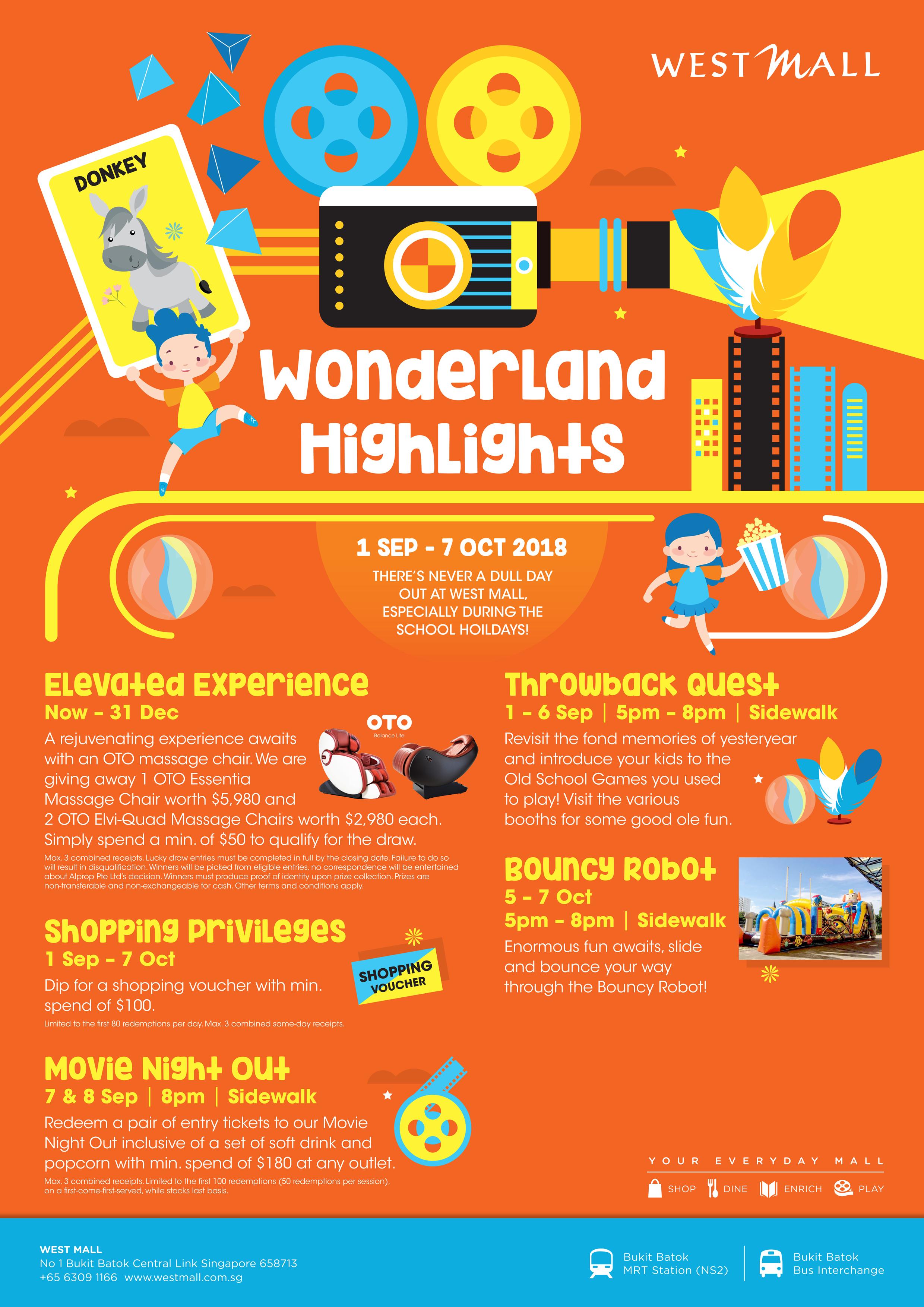 Wonderland Highlights