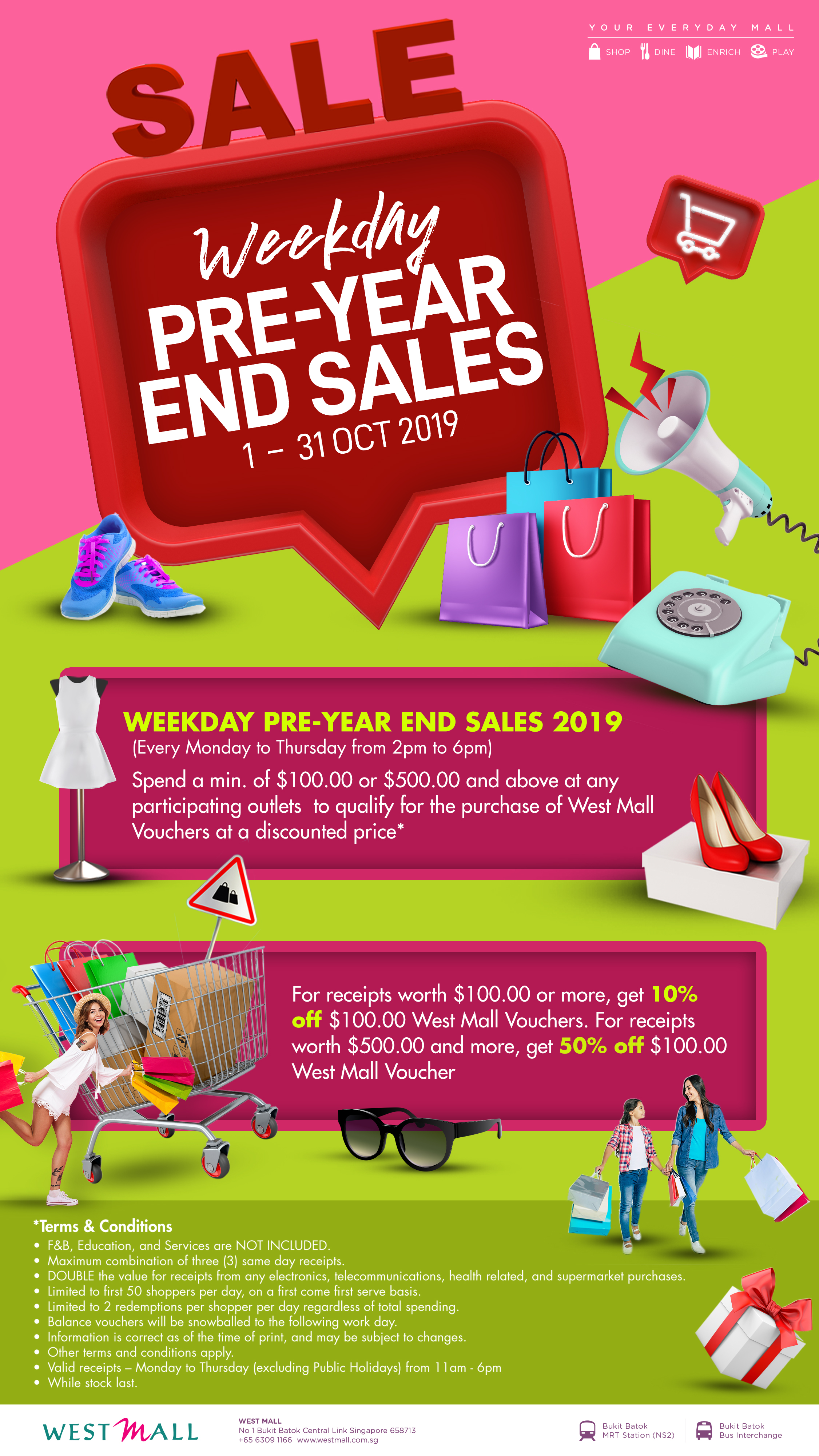 Oct Pre Year End Sales