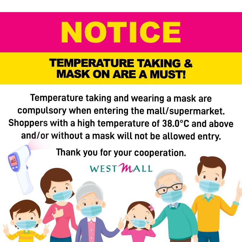 Mask notice_social media