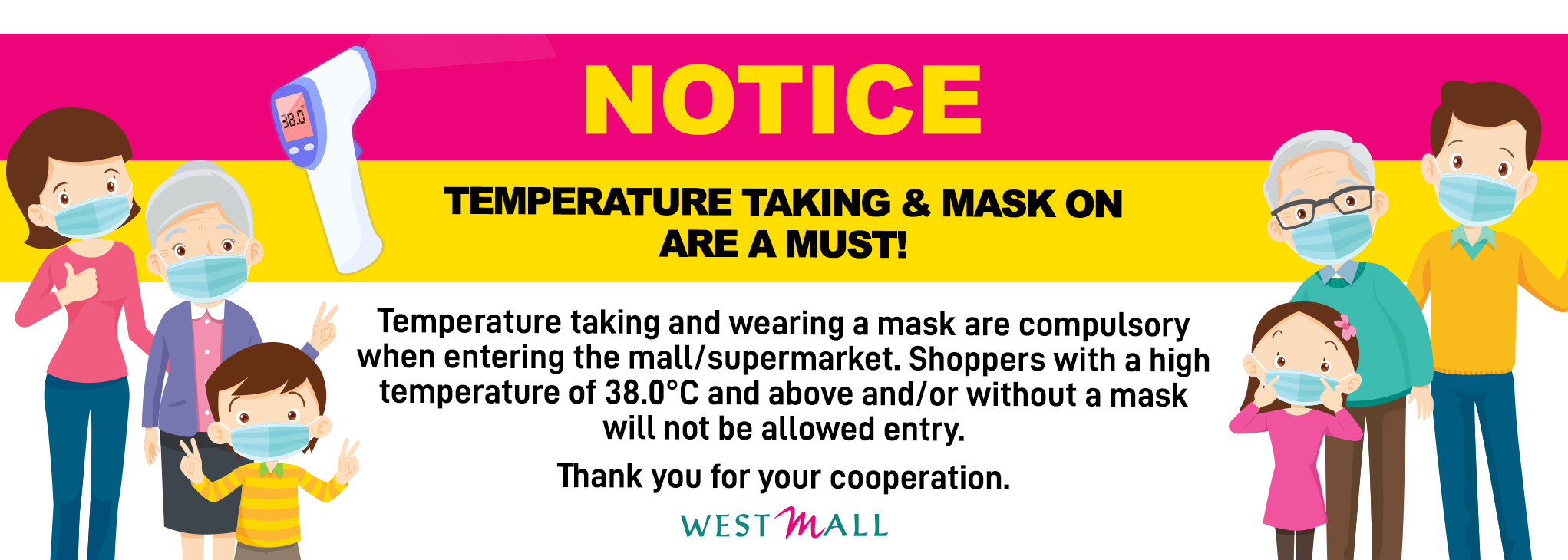 Mask notice_web banner