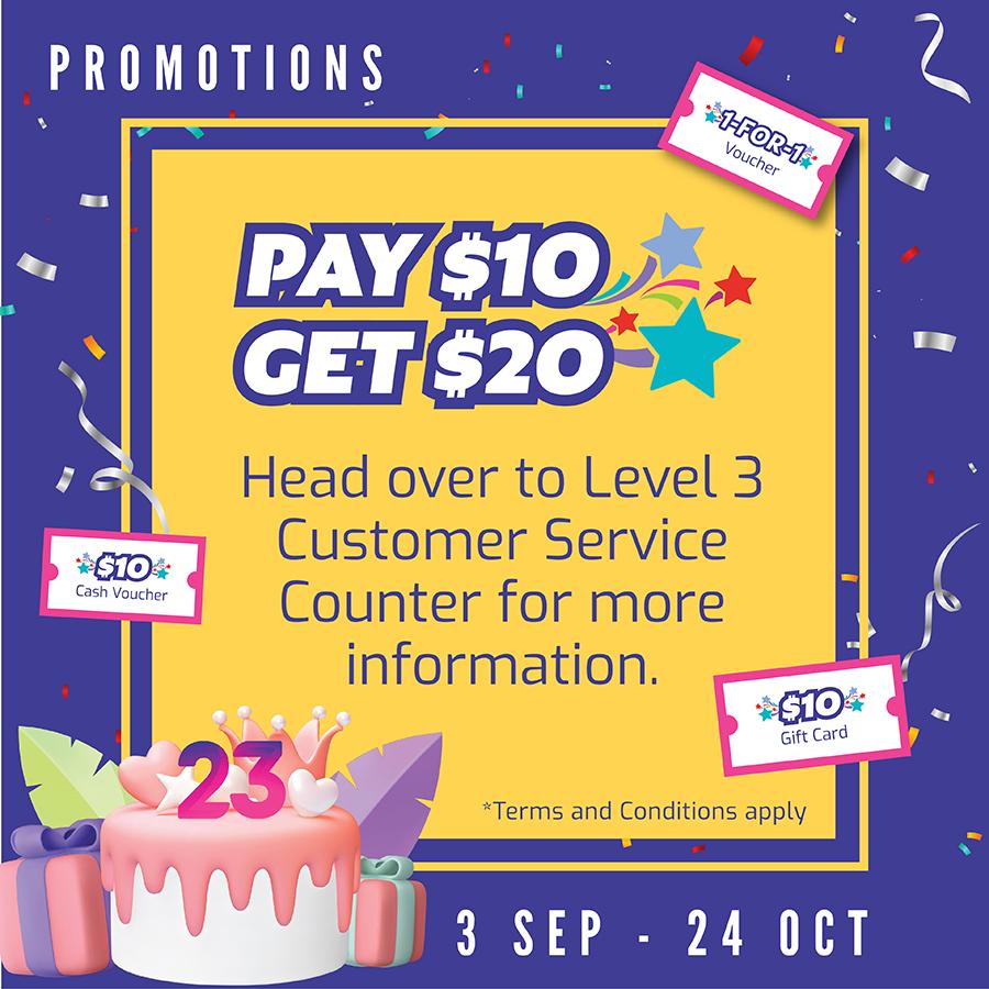 Pay $10 Get $20 v2